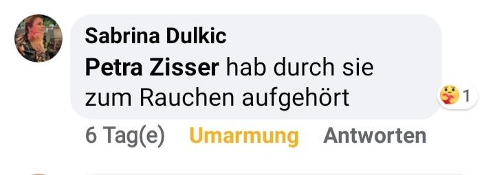 Feedback Meinung Hypnose Graz von Petra Zisser